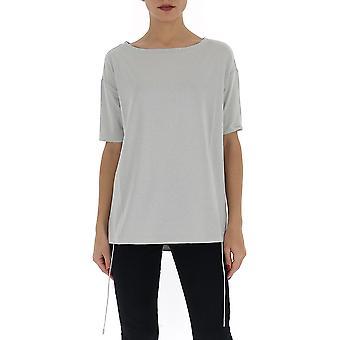 Fabiana Filippi Jed260b972c021vr1 Women's Grey Viscose T-shirt