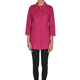 Herno Ezgl015040 Women's Fuchsia Cotton Coat