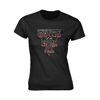 Ladies Queens of the Stone Age Retro Space Official Tee T-Shirt Womens Girls