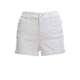 Karl Lagerfeld Klwst0001000011111 Women-apos;s White Cotton Shorts