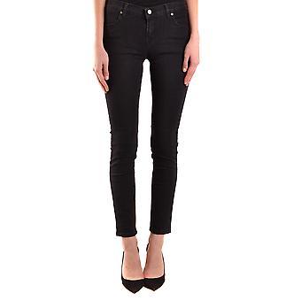 Brian Dales Ezbc126029 Women's Black Cotton Jeans