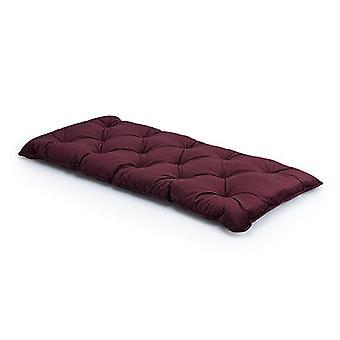 Borgoña SINGLE Velvet Loft 25® Memory Foam Futon Mattress Bed Cama de repuesto