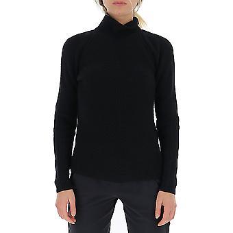 Gentry Portofino D618fug0009 Women's Black Wool Sweater