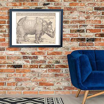 Albrecht Durer - The Rhinoceros Poster Print Giclee