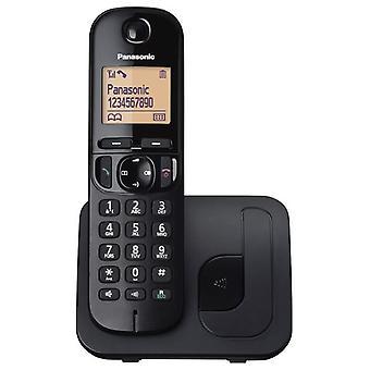 Panasonic digitale trådløs telefon med LCD-skjerm - svart (KX-TGC210EB)