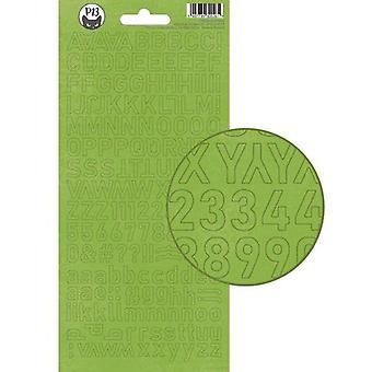 Piatek13 - Alphabet sticker sheet Christmas treats 01 P13-CHT-17 10.5x23cm