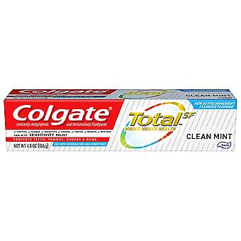 Colgate total toothpaste, clean mint, 4.8 oz