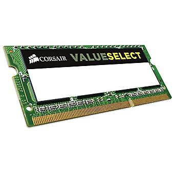 Corsair CMSO4GX3M1C1600C111 Değer Select 4 GB (1x4 GB), DDR3, 1600 MHz, CL11