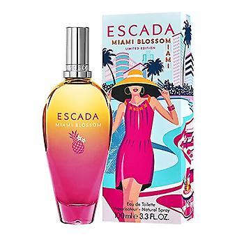 Miami Blossom av Escada för kvinnor 3.3 oz Eau de Toilette Spray