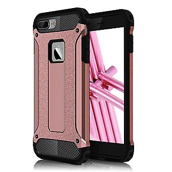 Shell para Apple iPhone 8 Plus 8+ Hard Armor Protection Pink TPU Case
