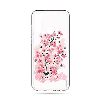 Hull For Xiaomi Redmi Note 8t Soft Cherry Blossoms