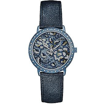 Guess ladies Quartz analogue watch with leather strap W0821L2
