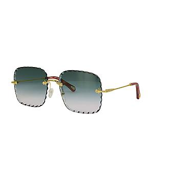 Chloe CE161S 838 Gold/Petrol Gradient Sunglasses