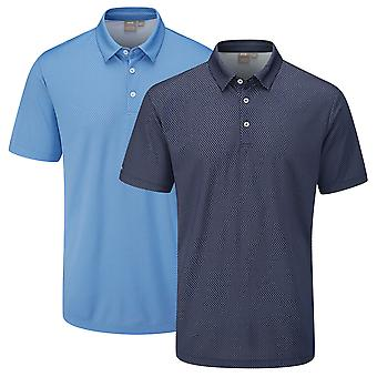 Ping Collection Mens Golf Spike Stretch Polo Shirt