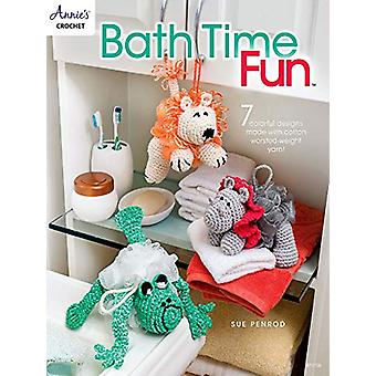 Bath Time Fun - 7 Colorful Designs Made with Cotton Worsted-Weight Yar