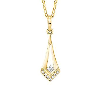 amor Necklace with Gold Gold Pendant - 2020006