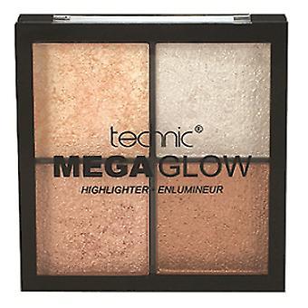 Technic Mega Glow Highlighter Quad Palette
