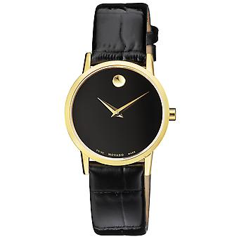 Movado Women's Museum Black Dial Watch - 607222