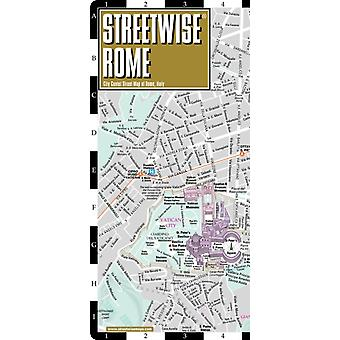 Streetwise Rome Map  Laminated City Center Street Map of Rome Italy by Michelin