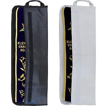 Offiziere Schärpe Tasche Fall mit Klettverschluss - weiß &