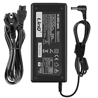 AC charger for Acer 65W/ 19V 3.42A Tip 5.5*2.5 mm- AC/ TO-6525- LinQ, Black
