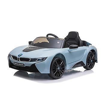 licenced bmw blue i8 coupe 12v electric ride on car one seater