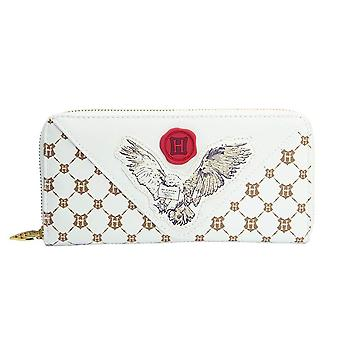 Harry Potter Hedwig Brief Zip-Around Clutch Geldbörse