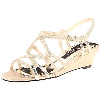 Nina Womens Foley-YG Open Toe Casual Ankle Strap Sandales