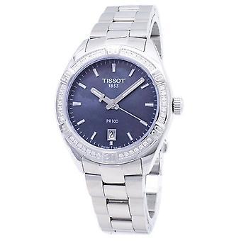 Tissot T-classic Pr 100 Lady Sport T101.910.61.121.00 T1019106112100 Diamant Akzente Quarz Damen's Uhr