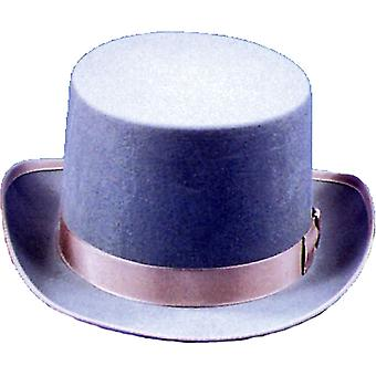 Top Hat Felt Qual Grey Med For All