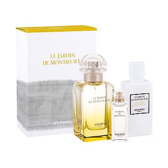 Hermes - Le Jardin de Monsieur Li EDT 50 ml, t'lové mléko 40 ml a miniaturka EDT 7,5 ml - Eau De Toilette - 50ML