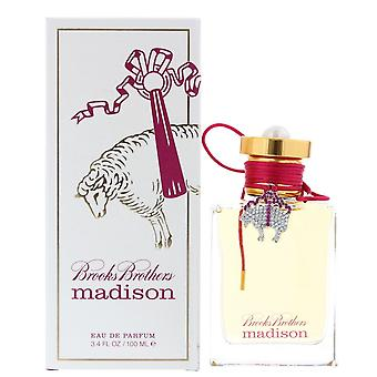 Brooks Brothers Madison Eau de Parfum 100ml Spray Para Su