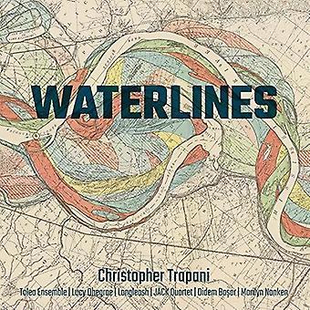 Trapani / Dhegrae / Basar - Waterlines [CD] USA import