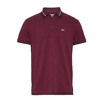 Polo Tommy Hilfiger Classics Tipped Strech Polo Bordeaux
