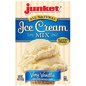 Junket All Natural Ice Cream Mix Very Vanilla
