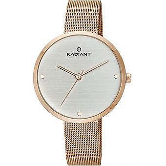 Radiant new essential Quartz Analog Woman Watch with RA452203 Gold Plated Stainless Steel Bracelet