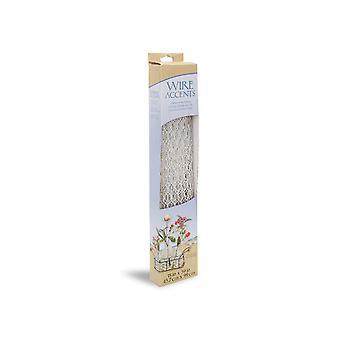 Witte kippengaas voor ambachten en bloemisten - 45cm x 99cm