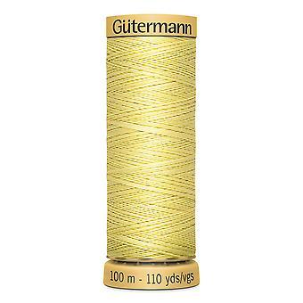 Gutermann 100 % natürliche Baumwolle Faden 100m Hand und Maschine Farbcode - 349