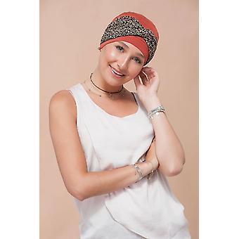 Headwear para Quimioterapia | Flor dourada de Ella Brick