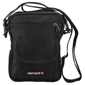 Element Road Unisex Classic Side Bag em preto