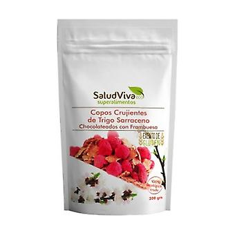 Crispy chocolate with raspberry buckwheat flakes 300 g