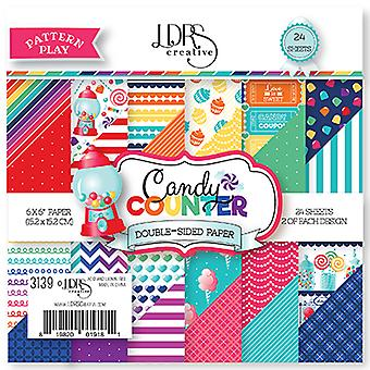 LDRS Creative Candy Counter 6x6 Inch Paper Pack