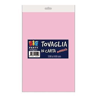 Ροζ ανάγλυφο χαρτί tablecover 3 ply 120 x 180cm διακόσμηση κόμμα