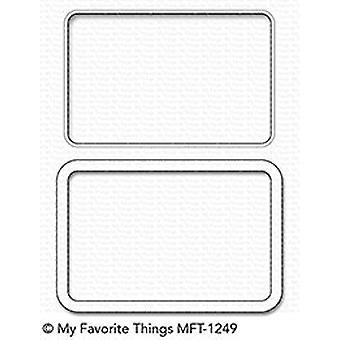 My Favorite Things Gift Card Window & Frame Die-Namics