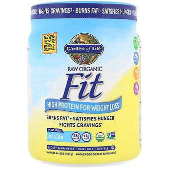 Garden of Life, RAW Organic Fit, High Protein for Weight Loss, Vanilla, 16.1 oz