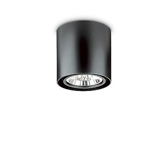 ideell lux stemning - innendørs 1 lys overflatemontert taklampe svart, GU10