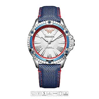Luxe Automatique Analog Justice League Wonder Woman Watch pour Femme 01