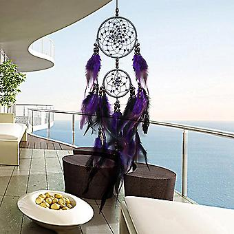 Nordic Room Decor Feathers Dream Catchers Wall Hanging - Car, Home Decor