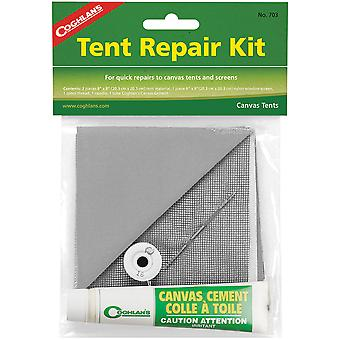 Coghlan's Tent Repair Kit, Quick Emergency Canvas & Nylon Patches Screen Cement