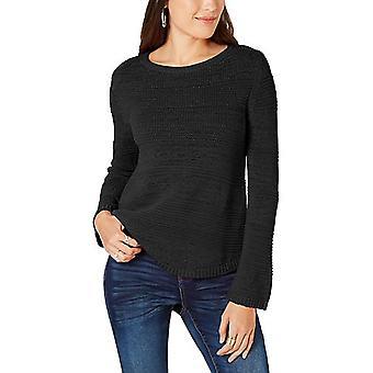 Stil og co | Blandet-Stitch Crew-Neck Sweater